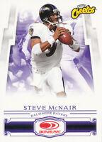 2007 Donruss Frito Lay  #C-2 Cheetos Steve McNair Football Card Ravens