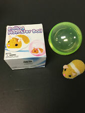 HAMSTER ROLLING BALL GREAT TOY FOR CATS,DOGS & KIDS INCLUDES GREEN BALL