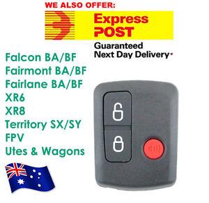 Ford Remote Control BA/BF Falcon Territory SX/SY/Ute/Wagon 02-10 3 Button