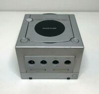 Nintendo Gamecube Silver DOL-001 Console System Only Not Working For Parts As-Is