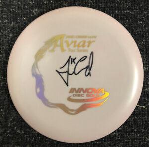 Innova James Conrad Signed 2020 Color Glow Aviar Holo Stamp - New- Autograph