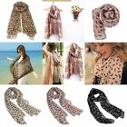 New Women Vintage Long Soft Chiffon Scarf Wrap Shawl Scarves Stole Spring Autumn