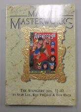 Marvel Masterworks #38! Avengers Nos. 31-40! FACTORY SEALED NEW OLD STOCK!