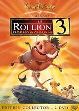 DVD Disney LE ROI LION 3 HAKUNA MATATA losange n° 71