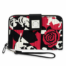 Disney Parks Vera Bradley Alice in Wonderland Wristlet Wallet