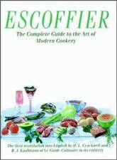 Escoffier: The Complete Guide to the Art of Modern Cookery, , Acceptable Book