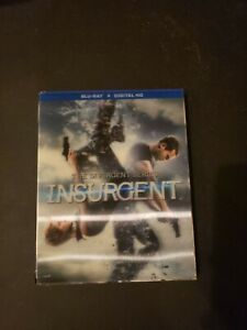 The Divergent Series: Insurgent (Blu-ray 2015) 3D Cover BRAND NEW SEALED