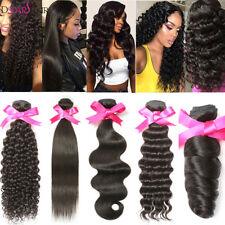 Brazilian Hair Jerry Curly/Body Wave/Straight/Deep Weaves Human Hair Extensions