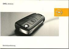 Bedienungsanleitung Opel Antara, Ausgabe 01/2008 (neu) #baan0108