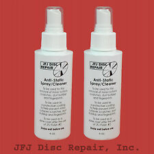 2  ANTISTATIC SPRAY Cleaner for JFJ Easy Pro / Single / Double Arm Disc Repair