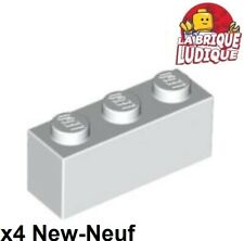 2x Panel Panneau 1x4x3 Side Supports H Lego Studs noir//black 60581 NEUF