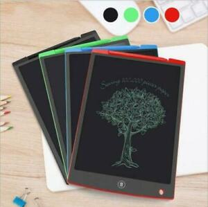 "8.5"" Digital Electronic LCD Drawing Tablet Board Kids Art Graphic Writing Pad UK"