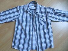 chemise à carreaux denin dpt 14 ans