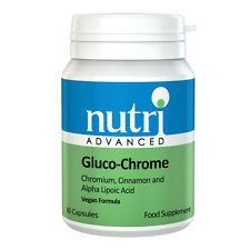 Gluco-Chrome - 60 Vegan Capsules by Nutri Advanced - Blood Sugar Management