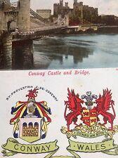 John Homan's Conway Castle and Bridge, North Wales