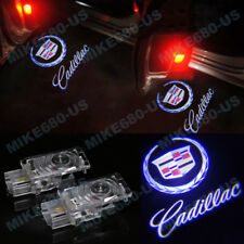 2X LED Door Step Courtesy Shadow Laser Light For Cadillac CTS 2014-2016