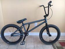 S&M BTM Mike Hoder Bmx Bike Custom Rare Gyro Tabs  Trans Sky Blue Complete 20.75