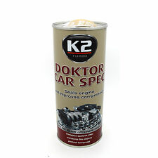 DOKTOR CAR SPEC Engine Treatment Improve Compression Performance Oil Additive K2