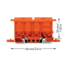 WAGO 222-500 Mounting carrier for 2, 3, and 5 Wire Compact Splicing Connectors