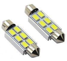 2 Ampoules LED C5W 36MM Canbus Blanc 6500K plaque d'immatriculation plafonnier