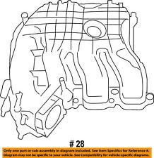 CHRYSLER OEM Engine-Intake Manifold 68240667AB