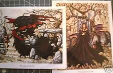 Amy Brown Autumn Court Memories Avalon Signed Matched Number Print Set Limited