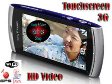 Sony Ericsson Vivaz U5i Silver (Ohne Simlock) Smartphone WLAN 3G GPS 8,1MP BLITZ