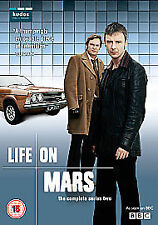 Life On Mars - Series 2 - Complete (DVD, 2007, 3-Disc Set, Box Set) Charity Sale