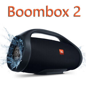 Boombox 2 Portable Wireless Bluetooth Speaker Boom Box Outdoor Subwoofer IPX7