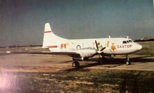 ZANTOP INT'L. CONVAIR CV-640 Airplane Postcard