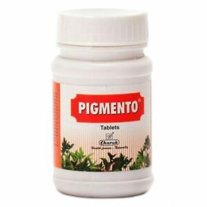 CHARAK PIGMENTO TABLETS 40 Tabs- FREE SHIPPING
