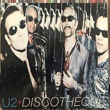 """U2 - DISCOTHÈQUE (+REMIXES) (12"""")  1997!!  RARE!!  BONO + FLOOD + DAVID MORALES"""