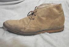 Vintage 90s Suede Desert Boots Calvin Klein 9 Gum Shoe camel Gc Box