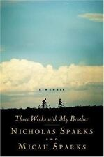 Three Weeks with My Brother, Nicholas Sparks, Micah Sparks,0446532444, Book, Goo