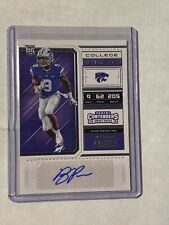 2018   CONTENDERS    COLLEGE TICKET   RC AUTO  BYRON PRINGLE MINT! Qty