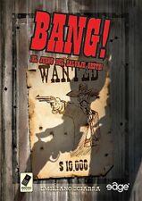 BANG! - EL JUEGO DE CARTAS DEL SALVAJE OESTE - AGILIDAD MENTAL Y DEDUCCIÓN -EDGE