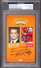 Derek Carr Rookie AUTO 2014 Senior Bowl PSA DNA AUTHENTIC