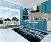 3D Rollen Wellen 3 Küchen Matte Boden Wand Wand Druck Wand Dekor AJ WALLPAPER DE