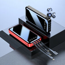 Portable 900000mAh Power Bank 4USB External Battery Backup Charger Fast Charging