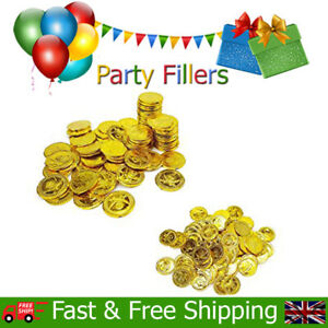 Pirate Treasure Coins Kids Childrens Birthday Christmas Party Bag Fillers Toys