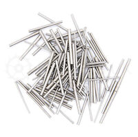100 x Steel Clock tapered pins - Assorted mixed sizes - pin taper repairs parts
