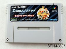 Dragon Slayer The Legend of Heroes Super Famicom Japanese Import SFC US Seller B