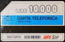SCHEDA TELEFONICA L. 10.000 FASCE ORARIE (40)