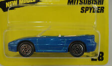 Matchbox Blue Mitsubishi Spyder Convertible Car Die Cast 1/64 1994 28 New