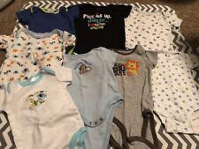 Boys 3-6 Month Bodysuit Lot