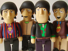 "The Beatles ""Yellow Submarine"" PVC Vinyl 28""cm Action Figures 4 in 1 Full Set A"