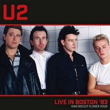U2-LIVE IN BOSTON '83-IMPORT WAR TOUR CD WITH JAPAN OBI F08 Alive The Live New