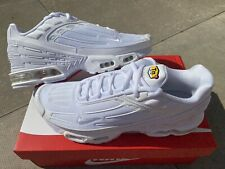 Nike Air Max Plus 3 Tuned Tn White UK 10 New