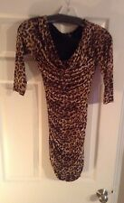 NWOT H&M Dress Lining Leopard Stretchable Size 4