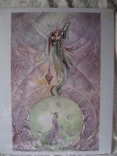 """ BEYOND""   8.5X11 Fantasy Print by Stephanie Pui-Mun Law"
